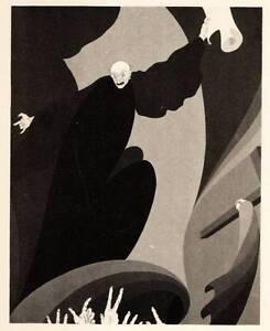 1929 Original John Vassos Art Deco Vintage Print On the Recent Sale by Auction..