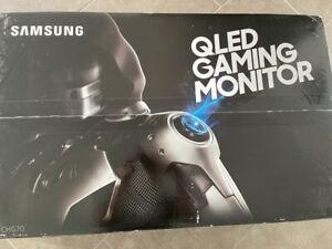 Samsung C32HG70 Q-LED Curved 32 Zoll Gaming Monitor, Neuwertig