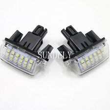 New 2Pcs 18-SMD LED License Plate Light For Toyota Camry 2013 2014 2015