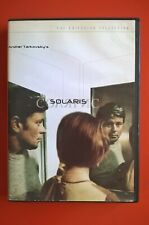 Solaris DVD Criterion Collection 1972 Region 1 Tarkovsky 2 disc