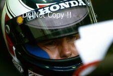 Gerhard Berger McLaren F1 Ritratto Fotografia 1992
