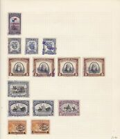 Panama Stamps on page Ref 15511