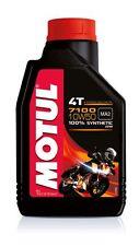 1 LITRO OLIO MOTUL 7100 10W50 MA2 100% Sintetico PER MOTORI 4T moto scooter