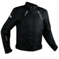 Apparel Motorcycle Wind Waterproof CE Armour Thermal Textile Jacket Black
