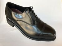 Florsheim Lexington Black Oxford Shoe Mens 8.5 3E Cap Toe Unworn Only Tried On