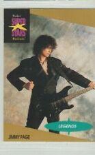 Led Zeppelin Proset Superstar Legend Jimmy Page, Card #17 Ex