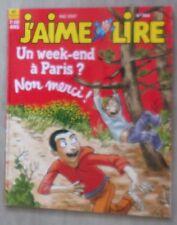 j'aime lire n° 364 Un week-end  à Paris non merci !