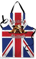 British Bulldog Design Grembiule Barbecue Cucina Cucina DIPINTO GRANDE IDEA REGALO