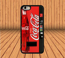 Cola Coke Vending Machine for iPhone And Samsung Galaxy Hard Case Cover F26