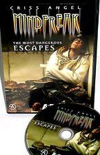 Criss Angel Mindfreak:The Most Memorable Episodes DVD, NEW! ESCAPES, MAGIC, A&E