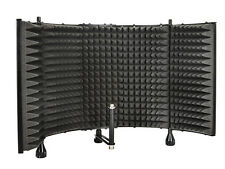 Studio Pro Audio Mikrofon MIC akustische Isolation Shield Absorber Schaumstoff Verkleidung