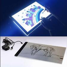 A4 LED Artist Thin Art Stencil Board Light Box Tracing Drawing Board Set Gift