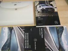 Mercedes Vito Propietarios Manual Manual Y Paquete De 14-17 Inc cartera refos 10