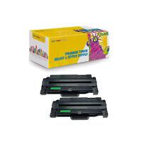 2Pack MLT-105L Compatible Laser Toner Cartridge For Samsung Fits ML-2525 ML-2580