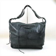 BALENCIAGA THE CRUISE big shoulder bag green