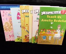 Lot 6 Summer Reading Level 2 I Can Read Amelia Bedelia Barbie Princess Popstar