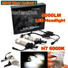 2015 New 40W 5000LM H7 Cree LED Headlight Kit Car Driving Lamp Bulbs 6000K White
