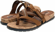 Skechers Cheyenne tribal thong sandals brown 9 Med NEW