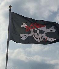 ONE EYED JACK 5ftx 3ft Flag, Pirate, Biker, Garden Decoration for Flag Pole