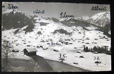 Switzerland~1939 ADELBODEN ~ Boden  ~ E.  Gyger RPPC