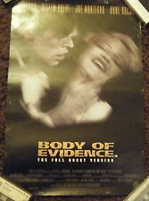 Madonna Body of Evidence RARE Small Shop Display Poster
