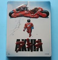 Akira Blu-ray + DVD Limited Steelbook Edition New Sealed