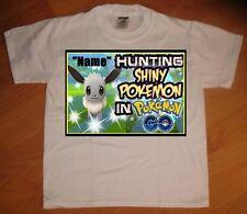 Pokemon Go Custom Personalize Birthday Party Favor Gift T-Shirt