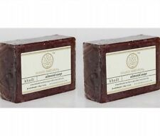 KHADI Herbal Almond Soap 125gm (Pack of 2 Soaps) Free Shipping Worldwide