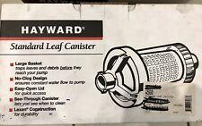 Hayward Leaf Canister Standard With Basket W560
