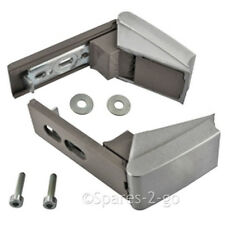 Silver Door Hinge Pair for LIEBHERR Fridge Freezer Refrigerator Hinges + Fixings