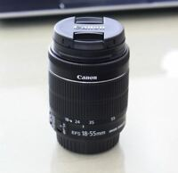 Brand New Canon  EF-S 18-55mm f/3.5-5.6 IS STM Lens (Original Cap) -Bulk Package