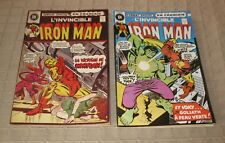 Vintage Heritage French Comics Book Iron Man #17-31 / 1973-74   FREE SHIPPING
