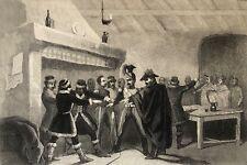 Franc-maçonnerie serment des frères Faucheurs Potok 1821 c XIXe Franc-maçon