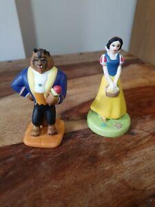 Disney porcelain figurines