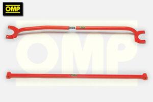 OMP FRONT/REAR STRUT BRACE VAUXHALL CORSA B 1.6 GSi 16v