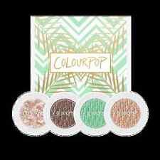 CLEARANCE SALE Colourpop BEACH PLEASE Super Shock Eyeshadow Set of 4 *UK Seller*