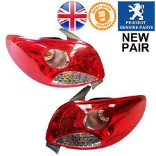 OE Quality 20-211-01153 Left Passenger Side NS Rear Light Lamp Peugeot 208