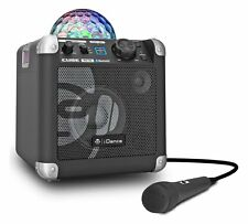iDance BC100 Disco Lights Bluetooth karaoke Machine Sing Cube RRP £79.99 BB