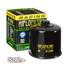 Genuine HiFlo HF138 RACING Oil Filter - Suzuki Kawasaki Yamaha *FREE SHIPPING*