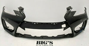 2016 2017 2018 2019 LEXUS GS-F FRONT BUMPER COVER OEM USED #848656