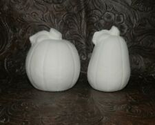 Small HALLOWEEN Pumpkin SET Ceramic Bisque  Ready to Paint Pottery
