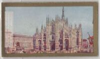 Milan Italy Cathedral Lombary Italy Catholic Church 90+ Y/O Ad Trade Card