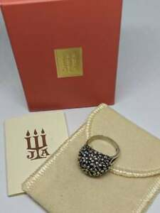 Sz 6.5 RETIRED James Avery Sterling Silver Daisy Flower Dome Ring w/ Box & Pouch