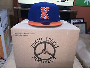 Kingsport Mets Fitted On Field New Era 5950 Cap Hat Size 7 3/8 New York NWT