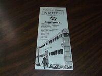 APRIL 1964 MILWAUKEE ROAD NORTH SUBURBAN PUBLIC TIMETABLE
