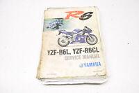 OEM Yamaha LIT-11616-12-62 Service Manual YZF-R6L(C) - P(C) SE
