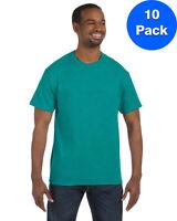 Gildan Mens 5.3 oz. Heavy Cotton T-Shirt 10 Pack G500 All Sizes