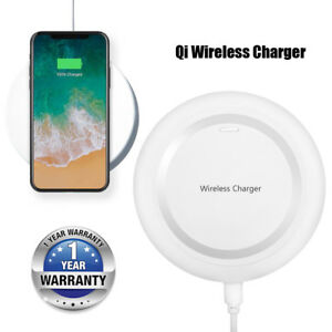 White Qi Wireless Charger Pad for Samsung Galaxy S5 SM-G900A Note SM-G900F Phone