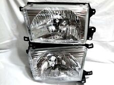 """GLASS"" Headlight Head Light Lamp One Pair W/2 Light bulb for 1999-2002 4Runner"