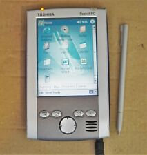 Toshiba Pocket PC E570, accessories including dock, pouch
